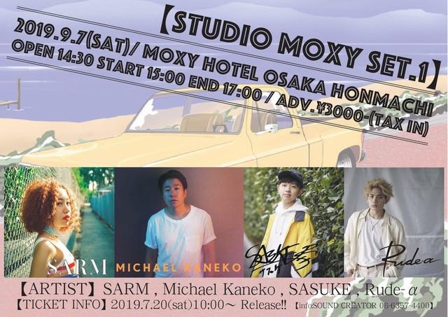 STUDIO MOXY set.1